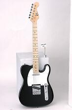Eleca DGT-250  Black Electric Guitar, Telecaster Style