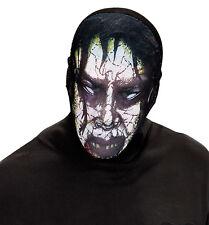 Undead Zombie Stoffmaske NEU - Karneval Fasching Maske Gesicht