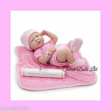 "BABY GIRL BERENGUER BLANKET NOT A REBORN 14"" PLAY DOLL ANATOMICALLY CORRECT"