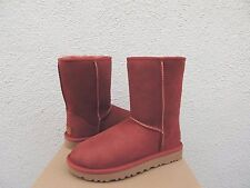 UGG CLASSIC SHORT II SPICE WATER-RESISTANT SUEDE BOOTS, US 6/ EUR 37 ~NIB