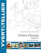 Yvert catalogus Europa volume 4 P-R catalogue Europe Katalog catalogo 2016