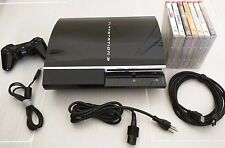 Sony PlayStation 3 60GB Piano Black CECHA01 - BACKWARDS COMPATIBLE PLAYS PS3 PS2