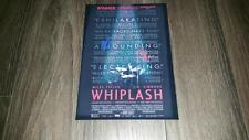 "WHIPLASH CAST X2 PP SIGNED 12""X8"" A4 PHOTO POSTER MILES TELLER J.K. SIMMONS"