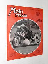 MOTO REVUE N°1132 1953 EMBIELLAGES MOTOBECANE 125 CC LATERALE PEUGEOT 175 PAU