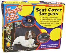 PLAYFUL PETS DOG ARRIÈRE NOIR HOUSSE DE SIÈGE VOITURE ANIMAUX SEAT PROTECTION