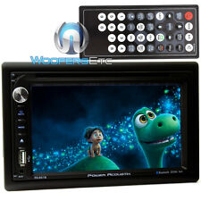 "POWER ACOUSTIK PD-651B IN-DASH 2-DIN 6.2"" TV CD DVD MP3 BLUETOOTH USB SD EQ NEW"