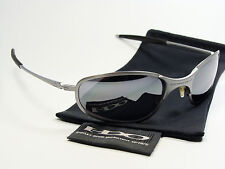 OAKLEY A WIRE THICK BLACK SONNENBRILLE SQUARE WHISKER INMATE SPLINTER PLAINTIFF
