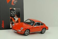 1973 Porsche 911S 911 S Coupe 2.4 orange 1:18 Schuco Diecast
