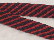 Qualità Multi Colore Rosso & Nero Boot Laces 140cm 5 COPPIA lotti