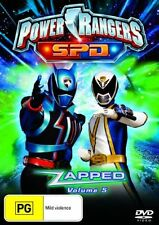 Power Rangers SPD - Zapped : Vol 5 (DVD, 2006)