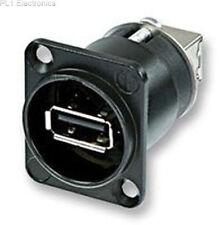 NEUTRIK - NAUSB-W-B - ADAPTOR, USB, BLACK