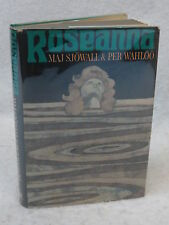 Maj Sjowall and Per Wahloo ROSEANNA Pantheon Books c. 1967 First Printing HC/DJ