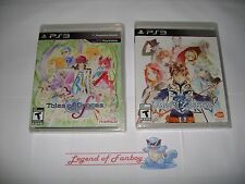 * New * Sealed * Tales of Graces F + Tales of Zestiria - Sony PlayStation 3 ps3