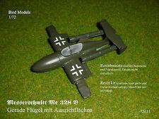 Messerschmitt 328 gerade Ausziehflächen 1/72 Bird Models Resinbausatz/resin kit