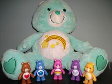 EASTER SPRING  CARE BEAR LOT PLUSH LARGE LOT  6 BEARS TOTAL COLLECTION 1X217