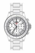 INVICTA MEN'S 22383 S1 RALLY QUARTZ MULTIFUNCTION WHITE DIAL WATCH