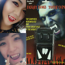 Bloodcurdling Vampire Werewolves Fangs Reusable Teeth Tooth for Hallowmas Party