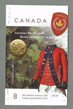 CANADA 2005 - Booklet - CANADIAN WAR MUSEUM - 8 @ 50c - Complete MNH