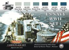 LifeColor U.S. Navy WWII set 1 (22ml x 6) CS24
