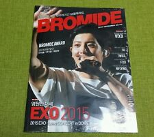 Bromide EXO VIXX F(X) TWICE IU N.FLYING : Magazine 2015 DEC. no.116, New Sealed