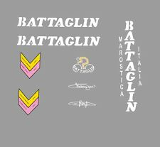 Battaglin vélo stickers, transferts, des stickers-BLANC N. 12