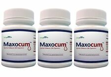 3x Maxocum Pills Increase Semen Volume 500% More Sperm Massive Load Maxo Cum