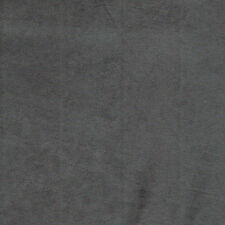 """Charcoal Micro Suede Upholstery and Drapery Fabric  60"""" Wide (Gray)"""