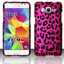 For Samsung Galaxy Grand Prime G530 Rubberized HARD Case Snap on Phone Cover
