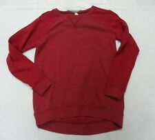 Roxy Womens Hoodie Rockaway Red Pullover Jacket Sweater Sz Small New