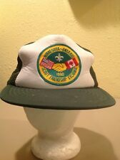 Minnesota-Ontario Scout Friendship Exchange snapback hat vintage cub scouts