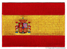 SPAIN FLAG embroidered iron-on PATCH SPANISH EMBLEM new