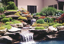 HOW TO BUILD PONDS & ROCK GARDENS - 33 BOOKS ON DVD - LANDSCAPING, KOI, DESIGN
