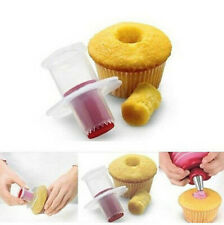Kitchen Muffin Cake Cupcake Corer Plunger Cutter Pastry Decorating Divider Model