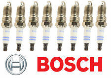 Buick Allure Cadillac CTS Set of 8 Spark Plugs Bosch OE Fine Wire Platinum 6704