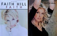 FAITH HILL - BREATHE & FAITH - (2) SONGBOOKS - PIANO / VOCAL / CHORDS