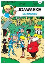 Jommeke 10: Die Kikiwikis - Deutsch - stainlessArt - NEUWARE