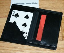 Himber wallet -- nice size, 100% English leather, looks & works great!      TMGS