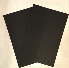Kydex Black 2 Sheets .080 P1 Finish, 12 x 8""