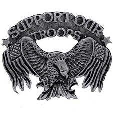 Support Our Troops Pin  BIKER PIN  NEW
