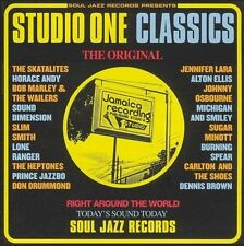Studio One Classics by Various Artists (CD, Aug-2004, Soul Jazz)