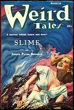 Weird Tales Magazine on DVD'S Old Comic Book Vintage Art Science Fiction Stories