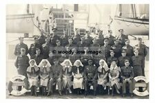 rp02832 - Royal Navy Hospital Ship - HMS Worthing , ex Ferry Worthing photograph