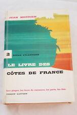 LES COTES DE FRANCE-ATLANTIQUE-PLAGE PORT ILE-JEAN MERRIEN-1960-ILLUSTRE CARTE