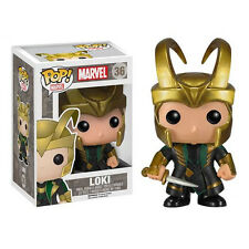 FIGURE LOKI MARVEL DC THE AVENGERS AGE OF ULTRON VINYL POP FUNKO THOR FILM #3