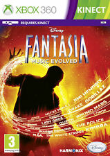Disney Fantasia Music Evolved Kinect Xbox 360 * NEW SEALED PAL *
