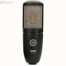AKG P220 Project Studios and Stage Microphone (BK). U.S Authorized Dealer