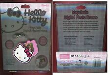 HELLO KITTY KEYCHAIN DIGITAL PHOTO FRAME NEUF SOUS BLISTER