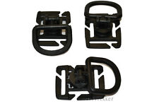 MOLLE PALS Military Set of 3 Swivel D Ring For Pack or Vest Ilbe Back Pack