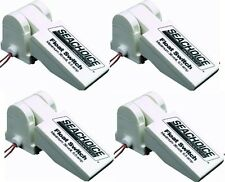 NEW MARINE BOAT UNIVERSAL FLOAT SWITCH FOR BILGE PUMP 4 PACK