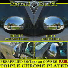 1997-2003 FORD F-150 Chrome Mirror Covers Fits WITHOUT Signal Lights